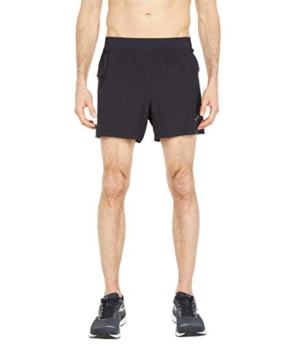 Brooks Sherpa 5' 2-in-1 Shorts Black LG 5