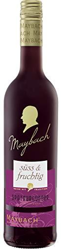 Maybach Spätburgunder Rotwein süß und fruchtig(1 x 0.75 l)