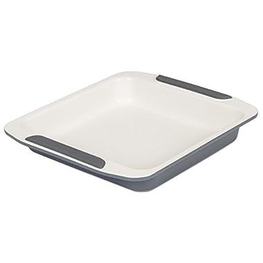 Viking Ceramic Nonstick Bakeware Square Cake Pan, 9 Inch