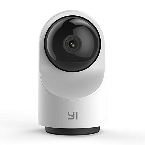 YI Smart Dome Security Camera X, AI-Powered 1080p WiFi IP Home Surveillance System with 24/7 Emergency Response, Human Detect, Sound Analytics, Time Lapse for Dog, Pet, Cat Monitor - Works with Alexa
