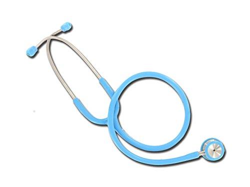 Gima - Fonendoscopio Duofono Wan, Pediatrico, Azzurro, Latex Free