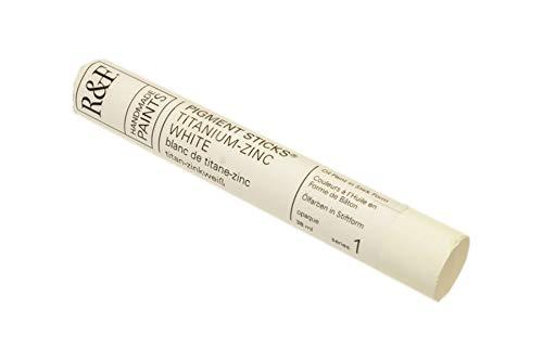 R & F 38ml Pigment Stick (Btons à l'huile) Titanium-Zinc Blanc I (2110)