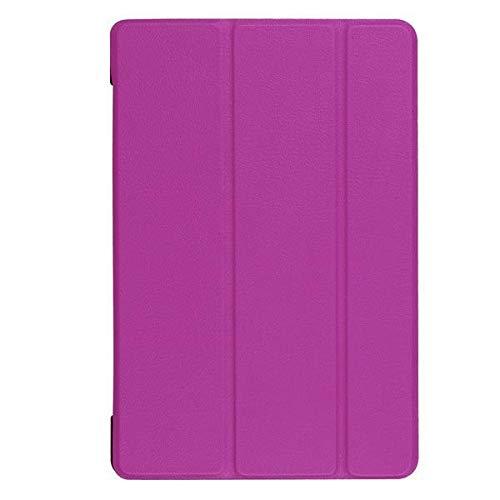 RZL Pad y Tab Fundas para Sony Xperia Z4, Cubierta de Tableta de Cuero Ultra Delgada de PU para Sony Xperia Z4 Tablet SGP771 SGP712 10.1 '' 2015 (Color : Purple)