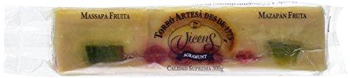 Vicens - Turrón Artesanal Mazapán Fruta, 300 g