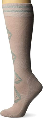 Volcom Damen Sherwood Medium Weight Snow Socken zum Snowboarden, Rose Wood, X Small