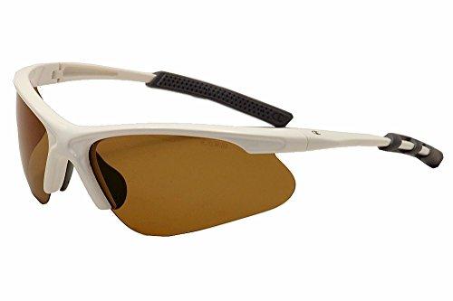 Herren Wei? Polycarbonat Rechteckige Sonnenbrille