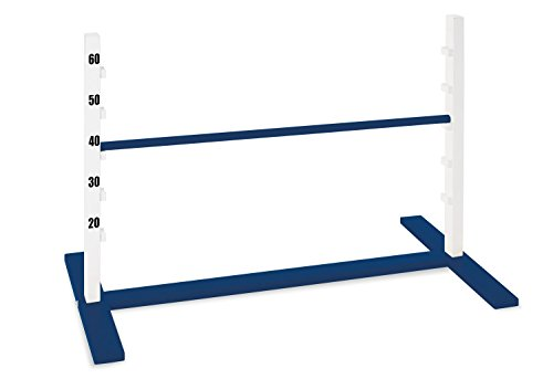 PINOLINO Hopp Obstacle Hurdle Outdoor Game (Blue/Brown)