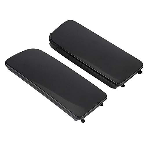 Nebelscheinwerfer Abdeckung, ABS Schwarz Nebelscheinwerfer Lampenabdeckung Rahmen für E30 E36 E46 318 323 325(Pair)