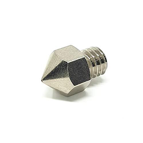 GO-3D MK8 - Ugello placcato in rame da 0,4 mm per stampanti 3D con filettatura M6