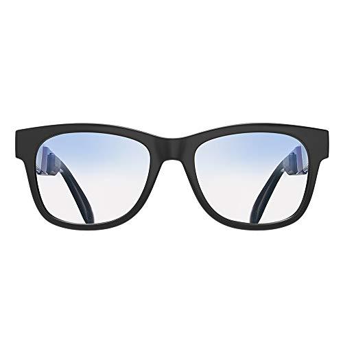 VocalSkull Conducción Ósea Gafas de Sol Bluetooth Inalámbrica Auriculares Deportivos Oreja Abierta Stereo Manos Libres Reducción de Ruido Micrófono Compatibles con Todos los teléfonos Inteligentes