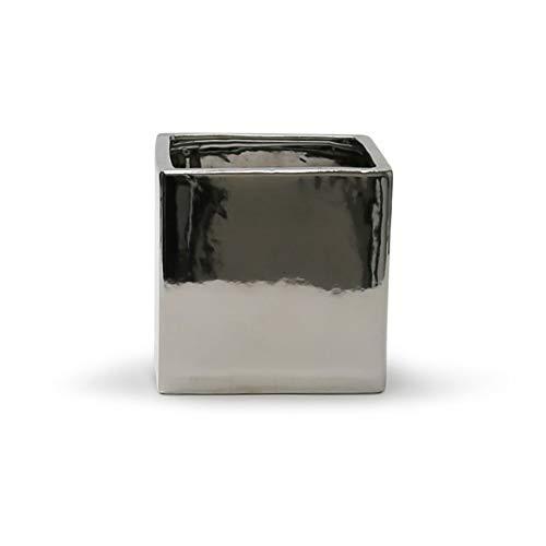 jarrón plateado fabricante WGVI