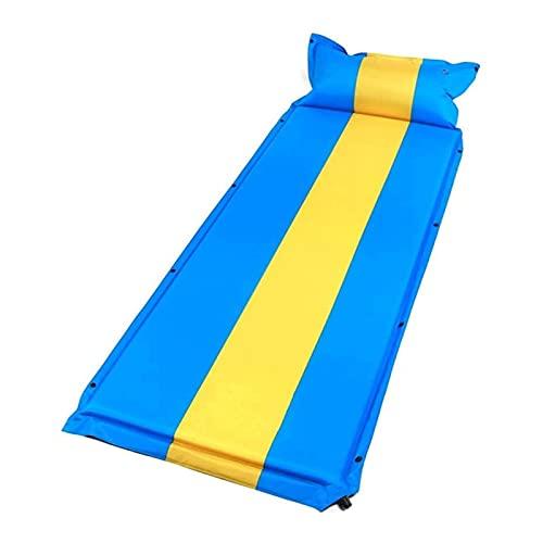 XIXIDIAN Almohadillas de Camping autoinflantes, Estera de Dormir Impermeable Ultraligero con Almohada Inflable y Compacto, Campamento para Dormir