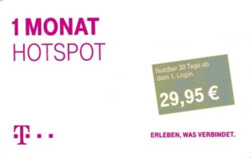 Telekom - Hotspot Pass - 1 Monat (Monatspass)