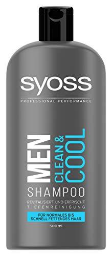 SYOSS Men Clean & Cool Pack de 500 ml