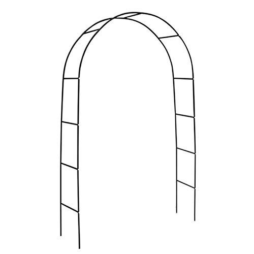 HRXQ Arco De Jardin Exterior,Arco De Metal para Jardin,140×38×240 Cm,Ensamblar Libremente para Varias Plantas Trepadoras Decoración De Arco De Boda Decoración De Fiesta Nupcial Pergola Cenador