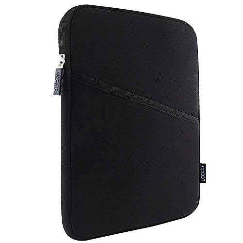 Lacdo Funda de Tableta para 7,9' iPad Mini 5/4/3/2, 8' Samsung Galaxy Tab A8, Huawei MediaPad M5 Lite, VANKYO MatrixPad S7/S8, 8 Pulgada Lenovo ASUS Bolsa Tableta Protectora Repelente al auga, Negro