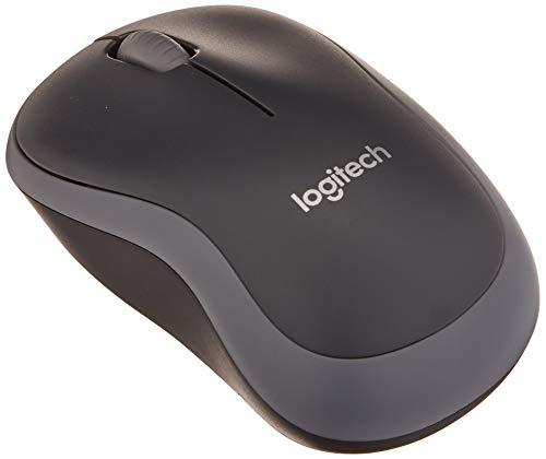 Logitech M185 Wireless Mouse, Silver
