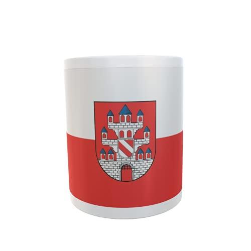 U24 Tasse Kaffeebecher Mug Cup Flagge Meerane