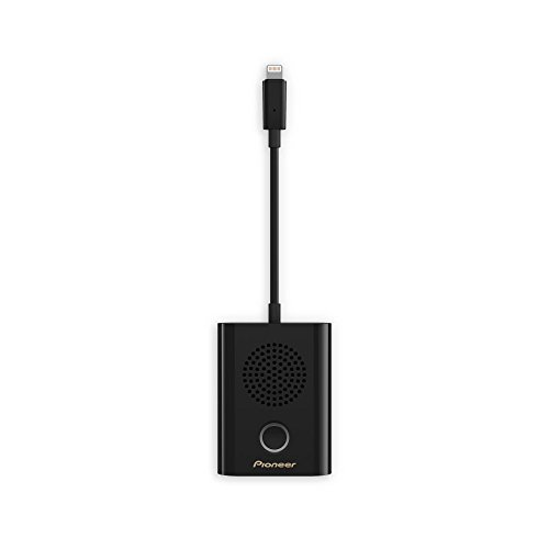 Pioneer Rayz Rally XW-LTS5-B - Altavoz con cable Lightning, color negro