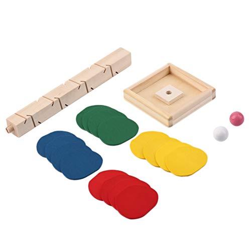 Juguete educativo Árbol Hojas Bloques Bola de mármol Juego de pista de carrera Juguete para bebés Niños Niños Inteligencia