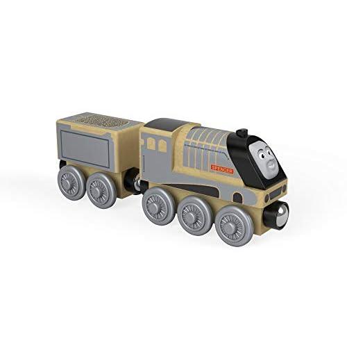 TRENINO THOMAS- Locomotiva Spencer-Treno in Legno Giocattolo, FHM42