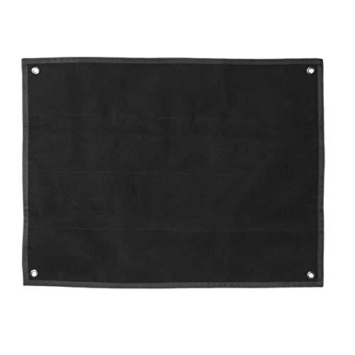 SOUTHYU Planche du Support De Patch Tactique Militaire Panneau De La Collecte De Patch du Moral, Noir (33.46 x 27.56 inch)
