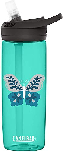 CamelBak Eddy+ Water Bottle with Straw - 25 Percent More Water Flow – Dishwasher Safe - Easy to Carry Reusable Water Bottles - BPA-Free Materials