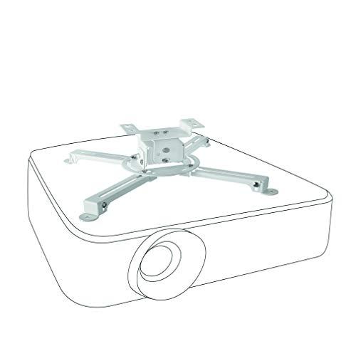 celexon neigbare Beamer-Deckenhalterung weiß Multicel 1000Pro - 10cm Deckenabstand - bis 15kg