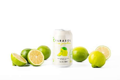 Parasol   12 Pack de Agua Carbonatada sabor Lima Yucateca