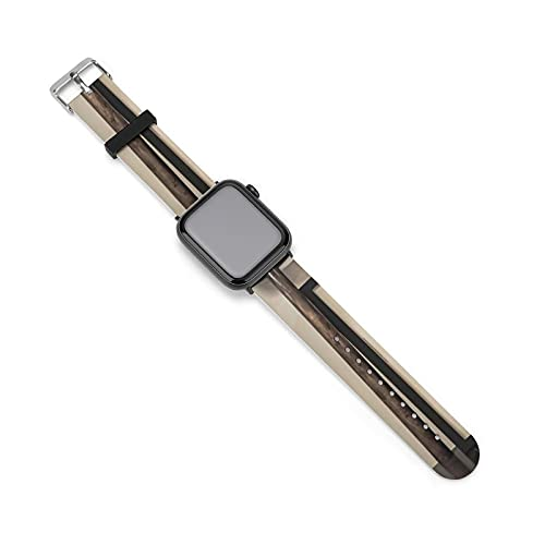 El silicón StrapArt Bible Citations Paisaje relojes correa de silicona diseño de moda a prueba de agua, 42mm/44mm,