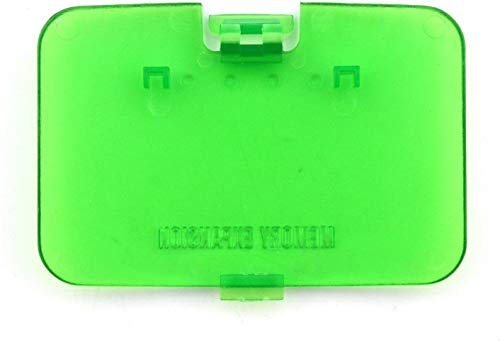 Replacement Protect Cover Jumper Pak Lid Door for Nintendo 64 N64 Expansion Pack (Green)