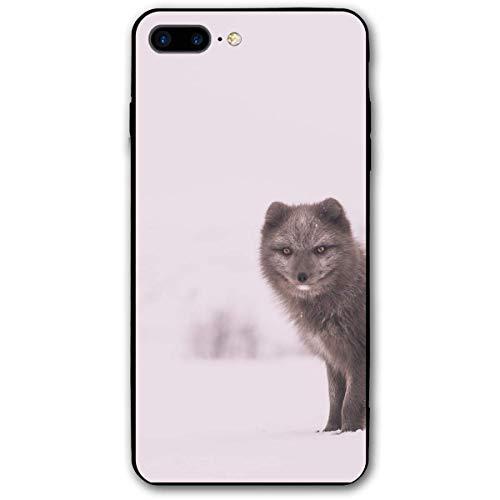 Compatibile con Biancaneve Arctic Fox iPhone 7 Plus / 8 Plus Cover iPhone 7/8 Plus Antiurto