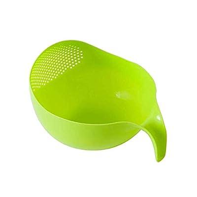 Bowl colander Kitchen Wash Rice ieve Plastic Vegetables Fruit Drain Rack Wash Rice Sieve Vegetables Basket Kitchen Strainer Tools