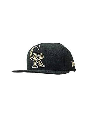 New Era Colorado Rockies 59Fifty Fitted Hat MLB Straight Brim Baseball Caps 5950