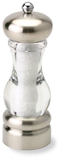 Olde Thompson Del Norte Salt Mill, 7', Silver/Clear