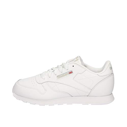 Reebok Classic Leather, Unisex-Kinder Sneaker, Weiß (White), 38 EU