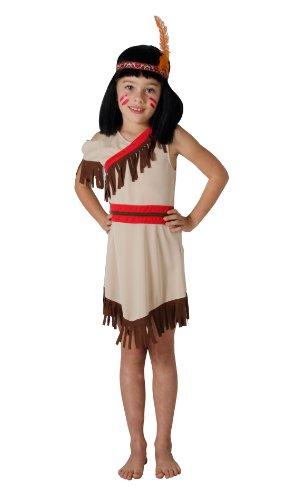 César - F105-001 - Costume - Déguisement Indienne - 3/5 Ans
