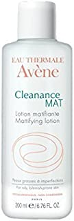 AVENE CLEANANCE MAT MATTIFYING TONER Purifies tightens pores/ESTERA de CLEANANCE MATIFICANTE TONER purifica cierra los poros 200 ml hecho en Francia