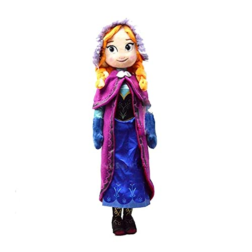 Frozen Anna y Elsa Dolls Snow Queen Princess Anna Elsa Doll Toys Threated Peluche Toys Girl Christmas Cumpleaños Regalos de cumpleaños 40 cm