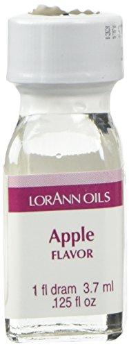 LorAnn Apple Super StrengthFlavor, 1 dram bottle (.0125 fl oz - 3.7ml)