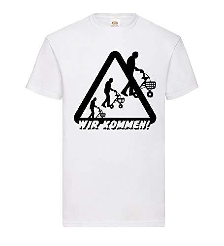 Let op rollatoren Wij komen mannen T-shirt - shirt84.de