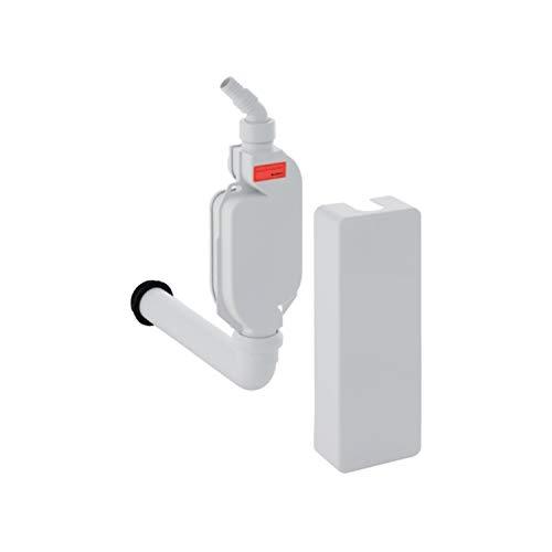 Geberit 152768111Entwässerung des Gehäuse-Oberfläche Siphon für Waschmaschine/Spülmaschine, 40mm weiß