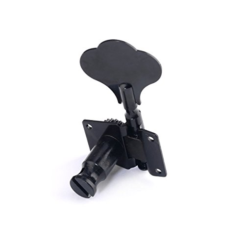Lanpeed 4R Jazz P Bass Black Tuning Keys Pegs Machine Head Tuners