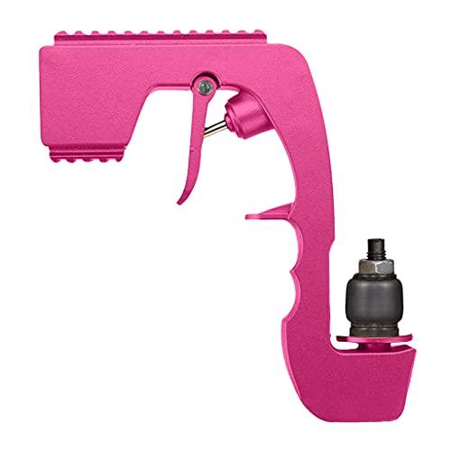 MagiDeal Pistola de champán Ajustable rociador Botella dispensador de Bebidas eyector aireador de Vino tapón de Vino para Fiesta de Boda - Pink