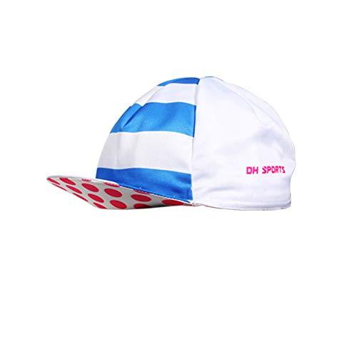 Denret3rgu Gorra para correr de secado rápido transpirable de moda Unisex Deportes al aire libre Ciclismo Running Hat Blue + Pink