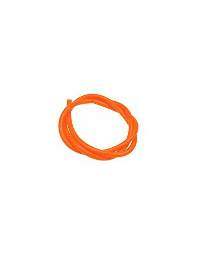 Preisvergleich Produktbild Durite Benzin 1 m orange neon Victoria Bull Dirt Bike / Pit Bike / Mini Moto