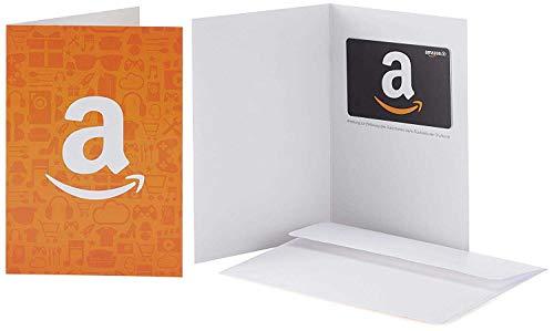 Amazon.de Geschenkkarte in Grußkarte (Amazon Icons)