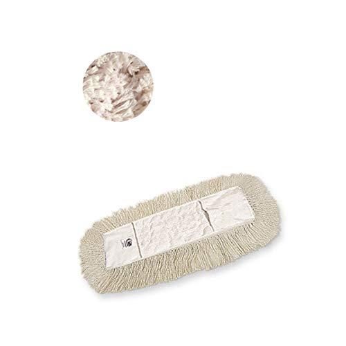 Hilados Recambio Mopa Abrillantadora con Velcro, Natural, Talla Unica