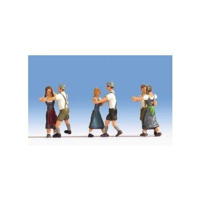 15857 - NOCH - Tanzende, 6 Figuren