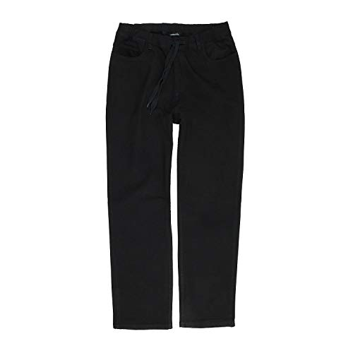 Lavecchia Herren Jeans Hose Schlupfhose mit Kordelzug Übergrössen 3XL-7XL Größe 4XL, Farbe stone-blau